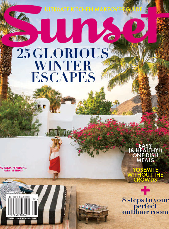 Sunset Magazine - Glorious Winter Escapes